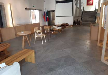 Čar lesa 2019 Palača Armerija, rektorat UP v Kopru