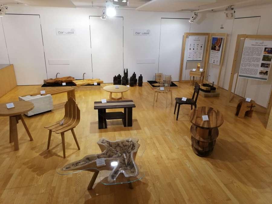 Čar lesa 2019: Rokodelski center Ribnica